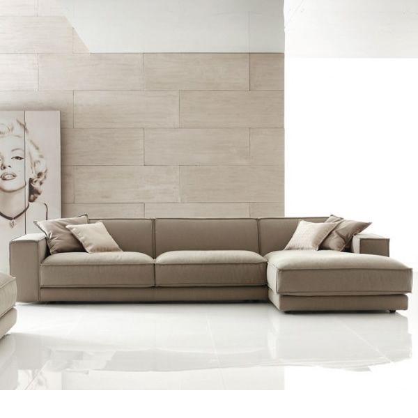 Divano angolare tondo idee per il design della casa for Divani moderni con chaise longue