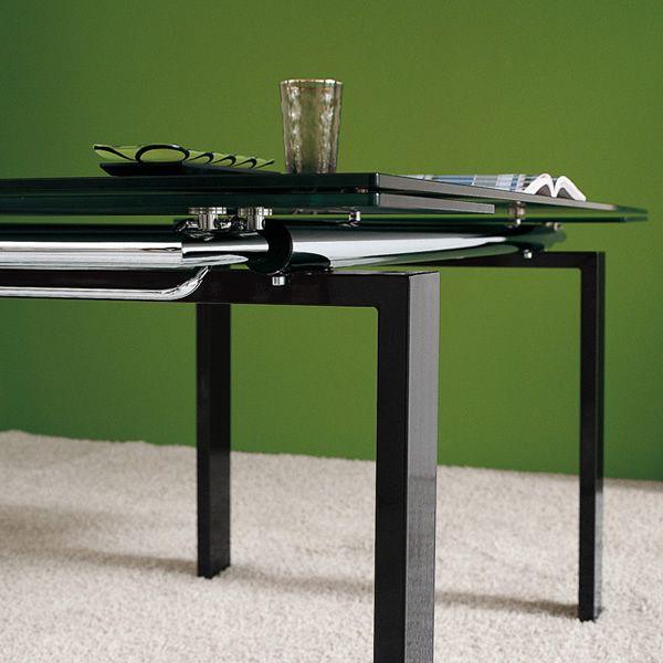 Md054r tavolo moderno in metallo piano vetro diverse - Tavolo vetro temperato opinioni ...