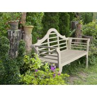 Trasimeno | Wooden folding bench available in several colours, for garden