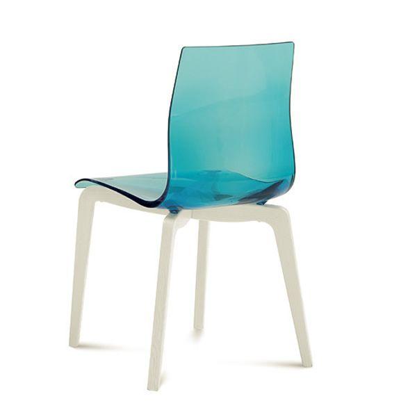 Gel l silla domitalia de madera y metacrilato sediarreda for Sillas metacrilato