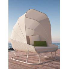 AIR | S relax | Seduta relax giardino con capote