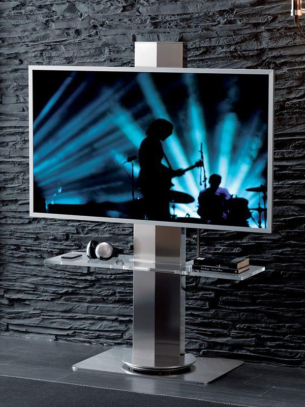 Meuble Tv Hauteur : Meuble Porte-tv Plasma Lcd Avec Réglage électrique De La Hauteur