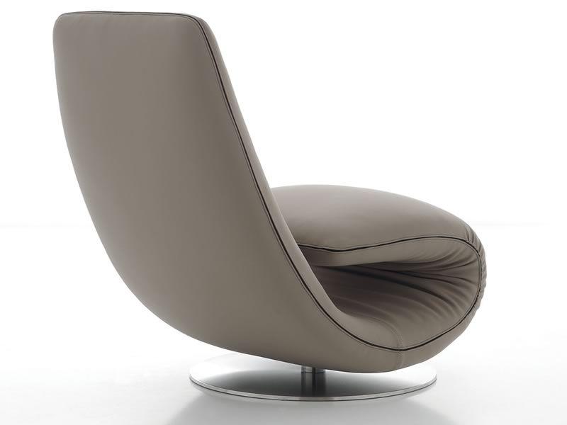 7865 Ricciolo - Poltrona chaise longue di design di Tonin Casa, diversi colori disponibili ...