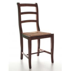 MU84 | Country style wooden chair, several colours and seats