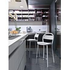 CS1255 Exia | Sgabello Calligaris, diverse sedute, altezza seduta 65 cm
