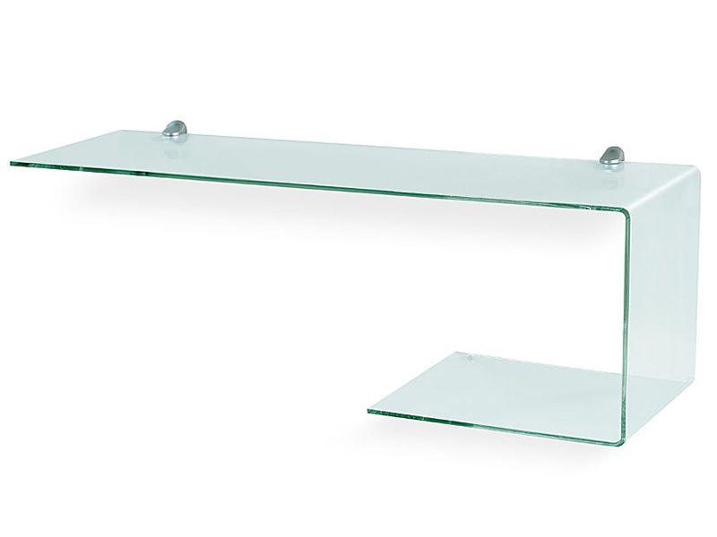 due v meuble entr e avec miroir et tag re en verre. Black Bedroom Furniture Sets. Home Design Ideas