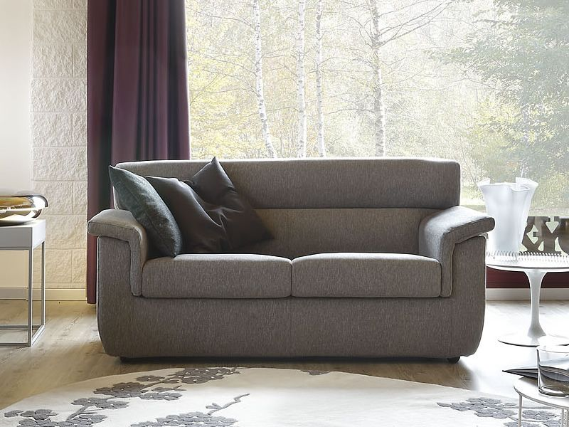 Trick divano moderno completamente sfoderabile anche divano letto sediarreda - Divano profondo 60 cm ...