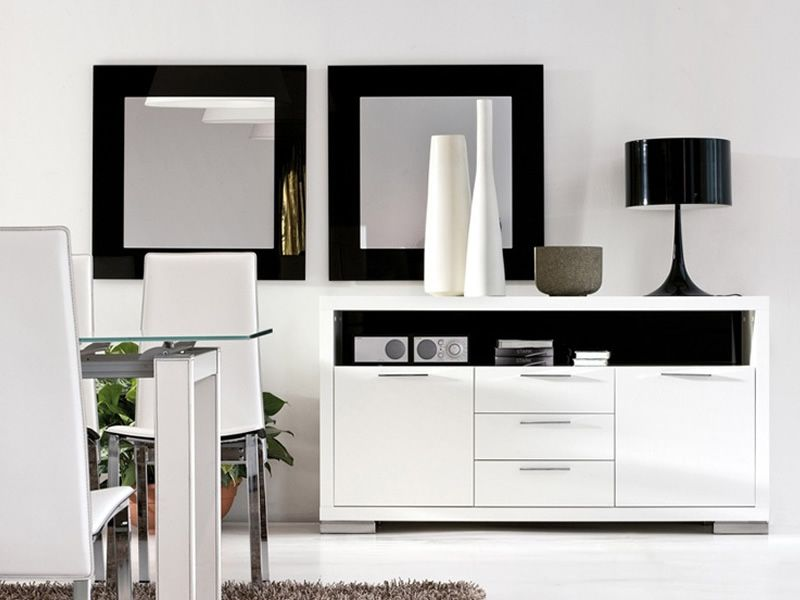 tonin casa viereckiger spiegel 80x80 cm verschiedenen. Black Bedroom Furniture Sets. Home Design Ideas
