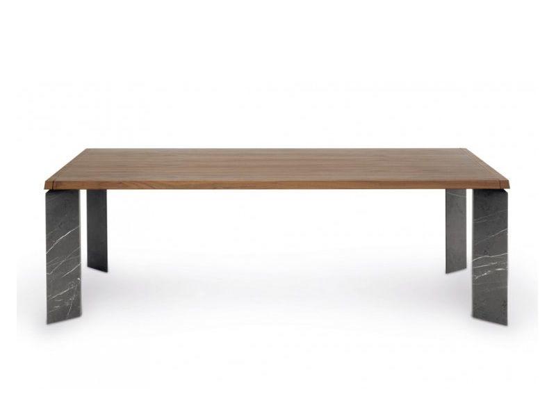 8068f roma tavolo design tonin gambe in marmo e piano in - Tavolo piano marmo ...