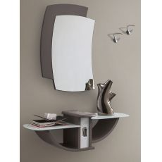 PA164 | Entrance furniture with mirror and hangers, several colours