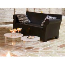 Bubble Club | Kartell design sofa, suitable for garden, in polyethylene, 2 maxi seater