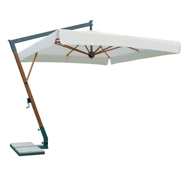 Omb15 per bar e ristoranti ombrellone da giardino con braccio laterale con struttura in - Ombrelloni da giardino offerte ...