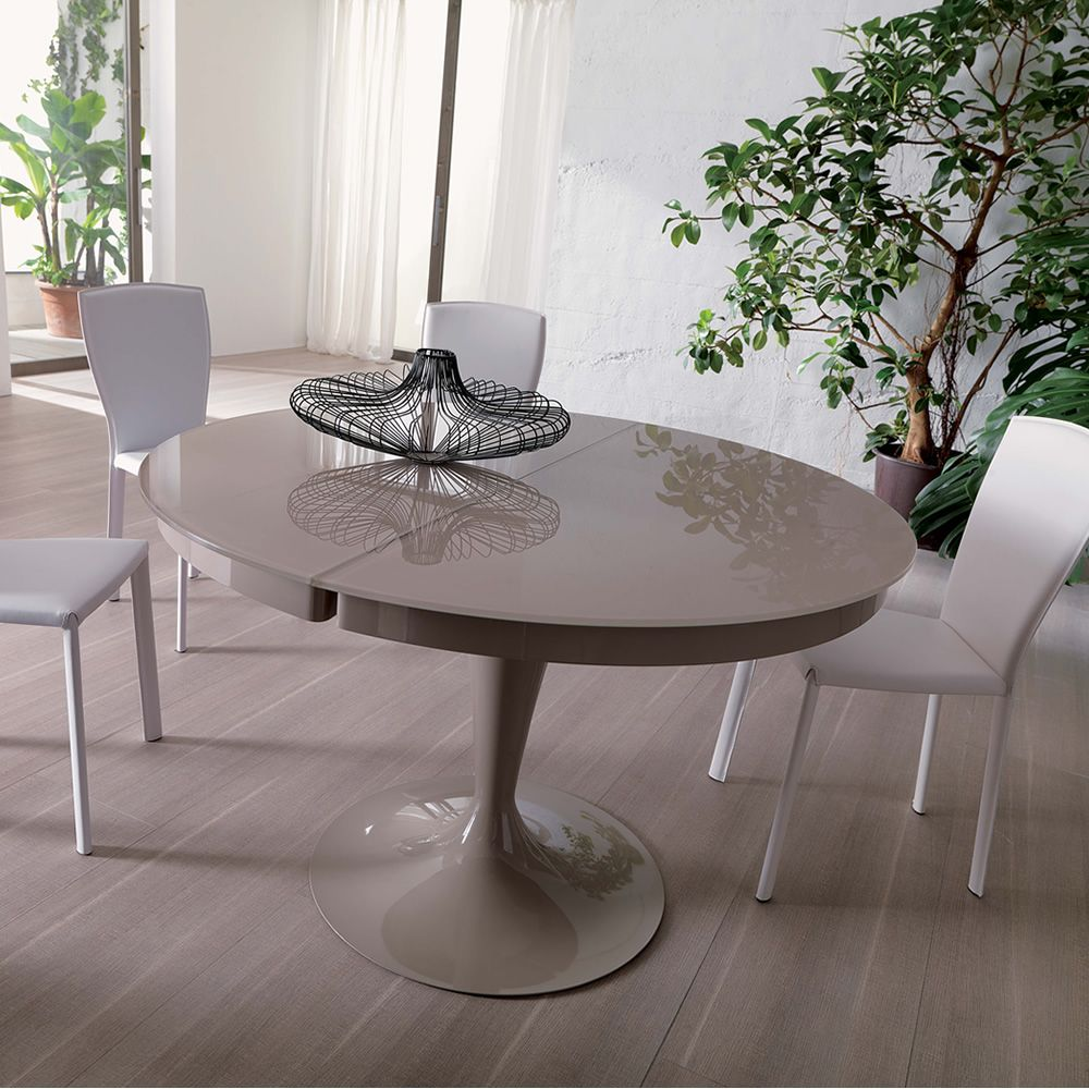 Tavolo Rotondo Bianco Allungabile. Great Excellent Tavolo Rotondo ...