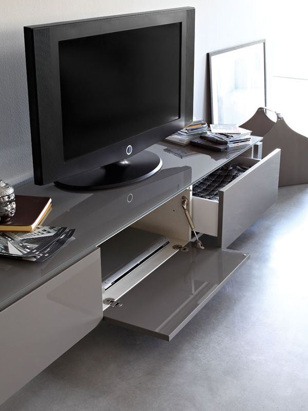 Cs6029 3r mag mobile porta tv calligaris in legno e vetro 193x52 cm sediarreda - Calligaris porta tv ...