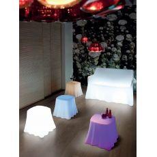 Casper | Pouff - Tavolino Domitalia in diversi colori, anche per esterno
