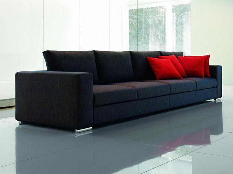 Boston divano a 2 3 o 3 posti xl sfoderabile in tessuto for Divano letto 4 posti lineare