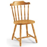 AV104 | Country stile chair in pine wood, several colours