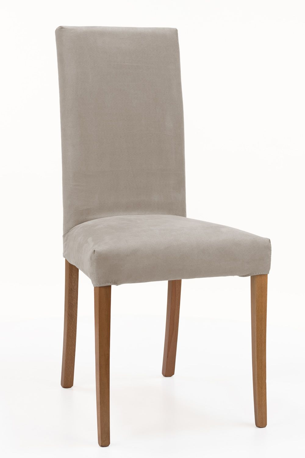 wooden chair padded seat and back removable cover mu72