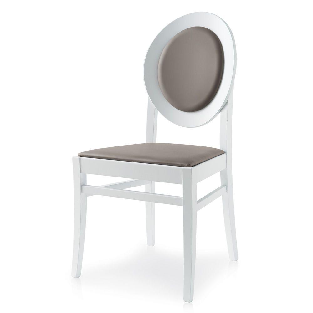 648 silla de madera asiento y respaldo tapizados en tela for Sillas de madera tapizadas en tela