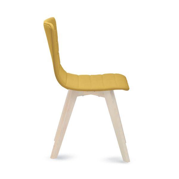 Flexa lx chaise domitalia en bois et assise en tissu for Chaise domitalia