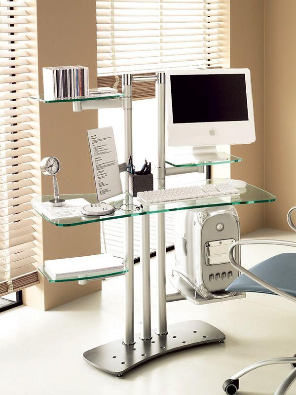 Byte mueble domitalia para ordenador con repisas porta for Muebles para ordenador