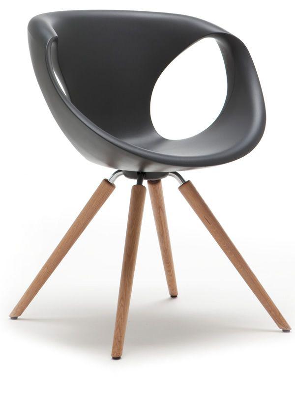 design stuhl von tonon aus holz und polyurethan verschiedene farben up chair w sediarreda. Black Bedroom Furniture Sets. Home Design Ideas