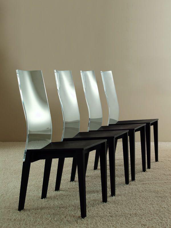 Vanity ice sedia colico design in legno e metacrilato for Colico design sedie