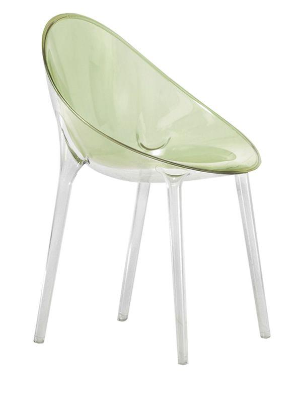 Mr impossible sedia kartell di design in policarbonato for Sedia design kartell