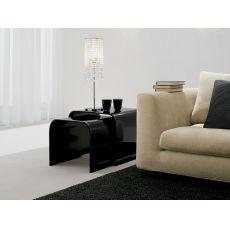 7308 | Bis di tavolini da salotto Tonin Casa, in vetro