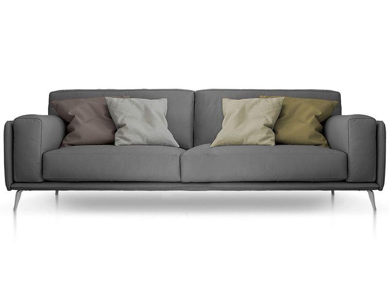 Helsinki divano moderno a 2 3 o 3 posti xl in tessuto o for Divano 3 posti in tessuto moderno