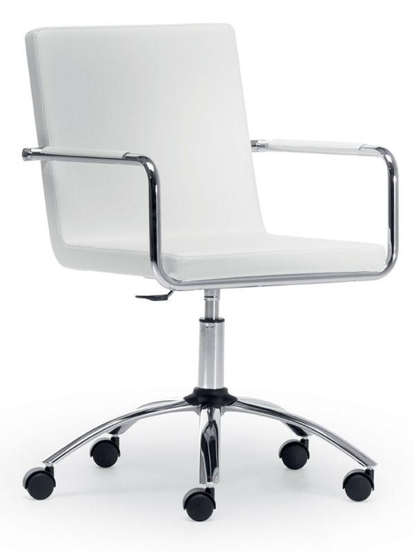 Md004ld sedia da ufficio regolabile rivestita in pelle for Ego divani opinioni