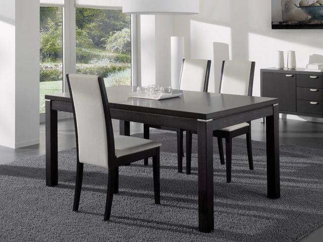 203 silla moderna de idealsedia de madera acolchada for Sillas madera modernas