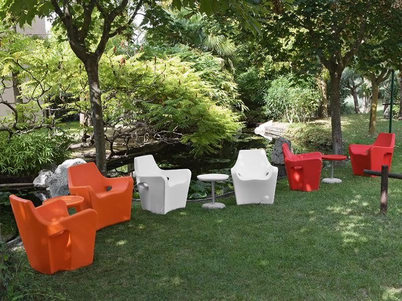 Sunset poltrona design per esterno di tonon in diversi for Poltrone giardino offerta