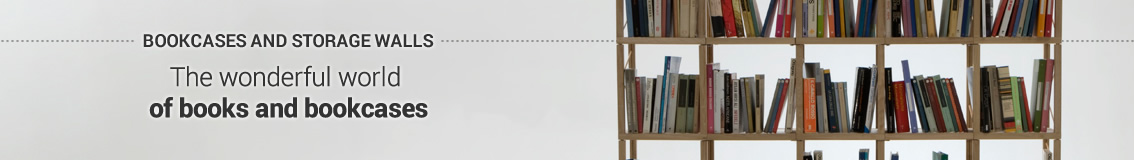 Bookcases and Storage Walls Catalogue: Living Compositions
