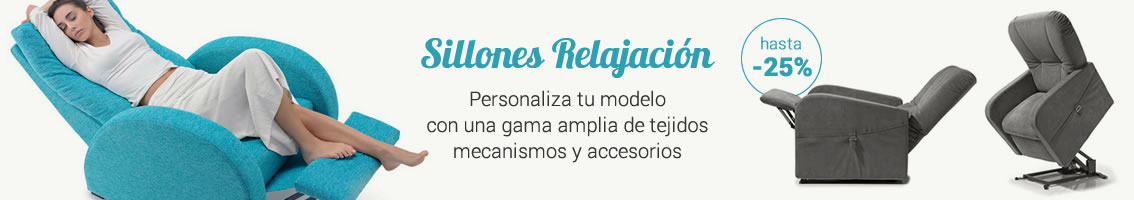Sillones Relax y Soluciones Regulables