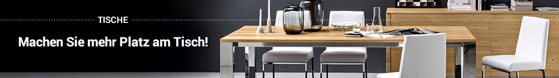 Tische: Formen und Maße für jeden Stil