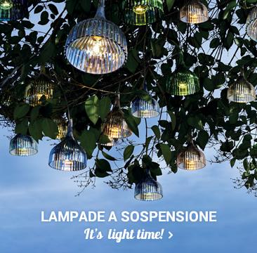 LAMPADE A SOSPENSIONE It's  light time!