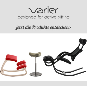 VARIER designed for active sitting jetzt die Produkte entdecken »