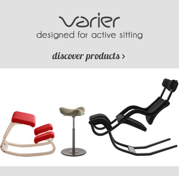 VARIER designed for active sitting discover products »