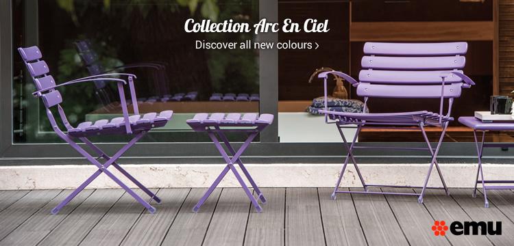 Collection Arc En Ciel Discover all new colours »