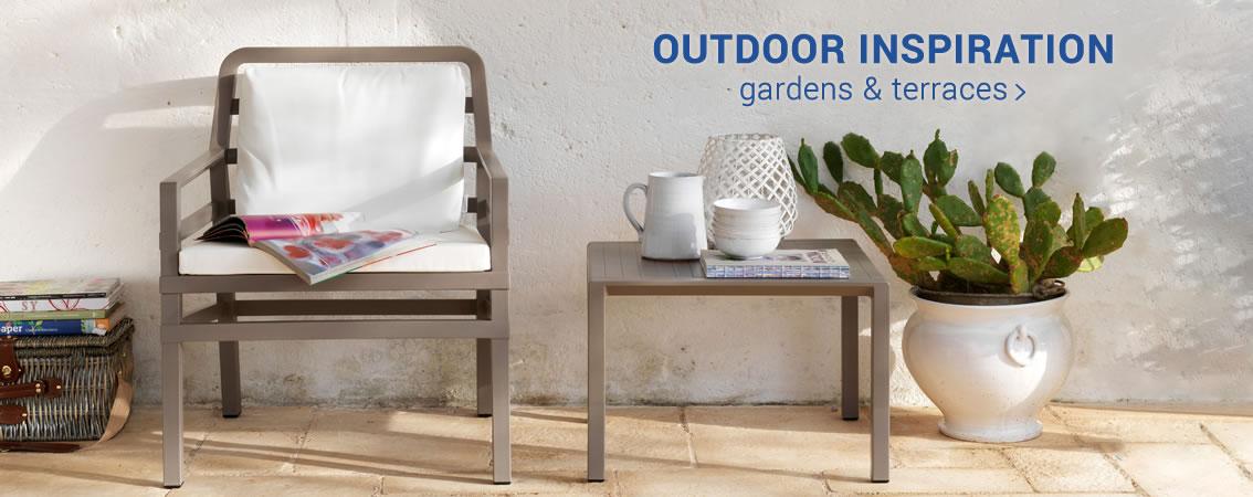 OUTDOOR INSPIRATION gardens & terraces