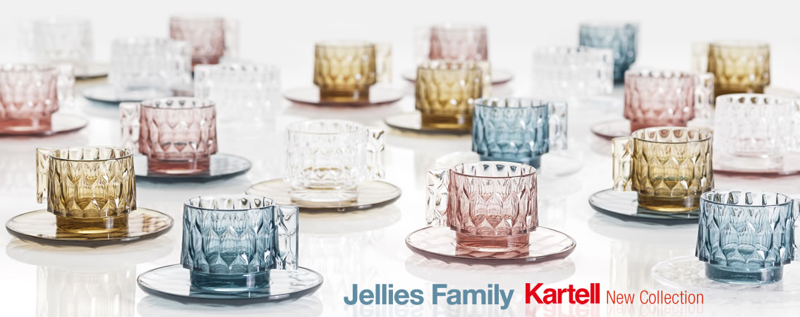 Jellies Family Kartell New Collection