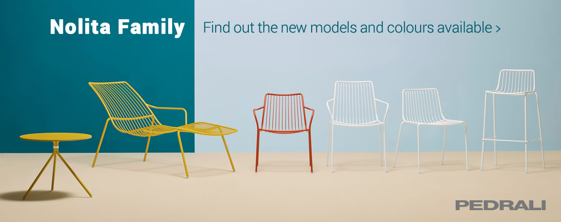 PEDRALI Nolita Family - Find out the new models and colours available