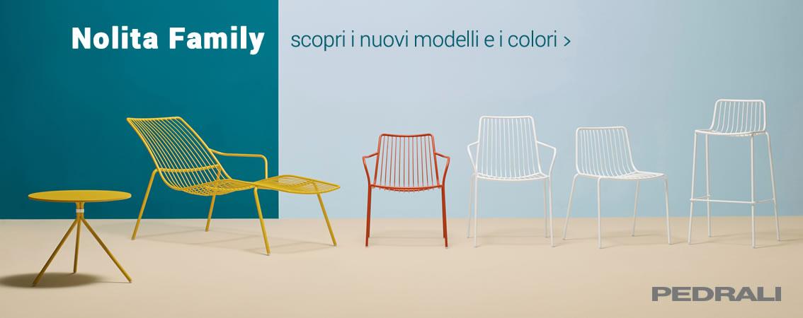 PEDRALI Nolita Family - scopri i nuovi modelli e i colori