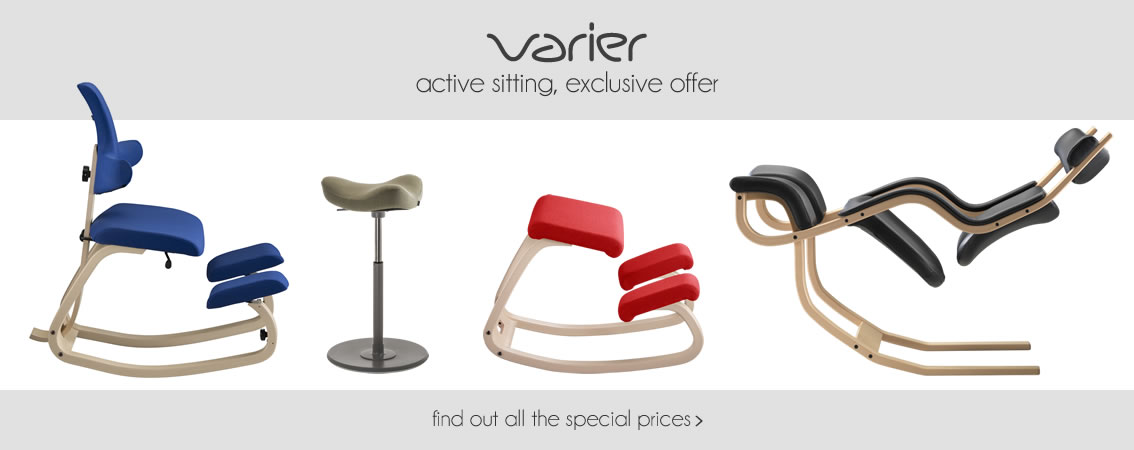 VARIER active sitting, exclusive offer find out all the special offers »