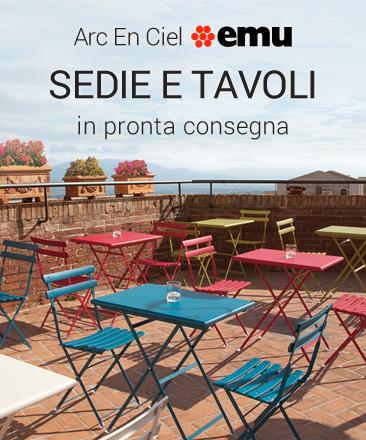 Sedie e tavoli by sediarreda offerte vendita online sedie tavoli e complementi d 39 arredo - Offerte tavoli e sedie ...