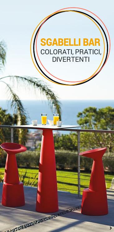 Sedie e tavoli by sediarreda offerte vendita online for Sgabelli colorati