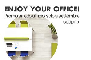Enjoy your office! Promo arredo ufficio, solo a settembre scopri »
