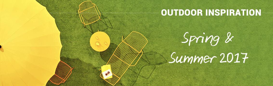 Outdoor Inspiration Spring & Summer 2017