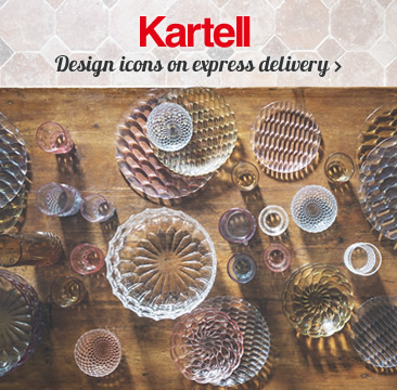 KARTELL Design icons on express delivery